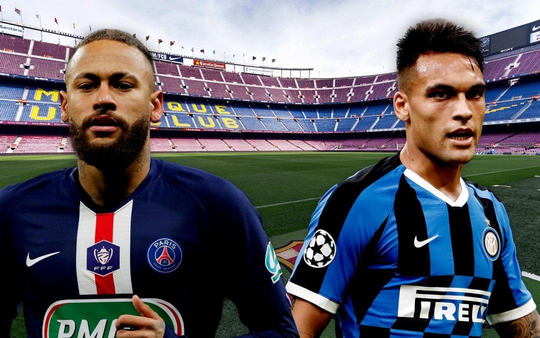 Neymar-Lautaro: una fórmula incompatible | El 10 del Barça